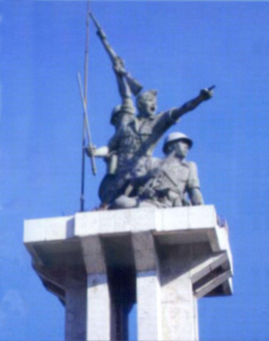 Patung Perjuangan Kota Surabaya Pusaka Jawatimuran Monumen Geriliya Jenderal Sudirman