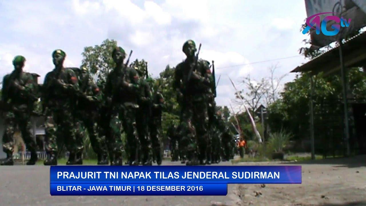 Prajurit Tni Napak Tilas Jenderal Sudirman Agtv Youtube Monumen Geriliya