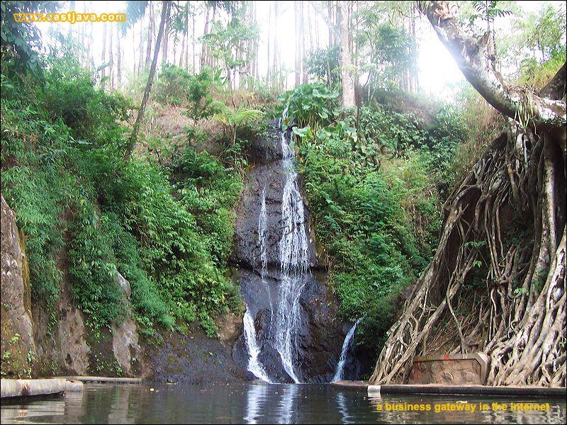 Wisata Kabupaten Nganjuk Selamat Datang Pemandian Air Terjun Roro Kuning