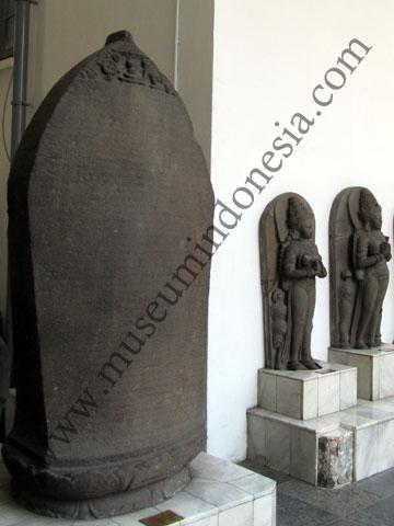 Museumindonesia Museum Anjuk Ladang Prasasti Koleksi Nasional Nganjuk Sebuah Kabupaten