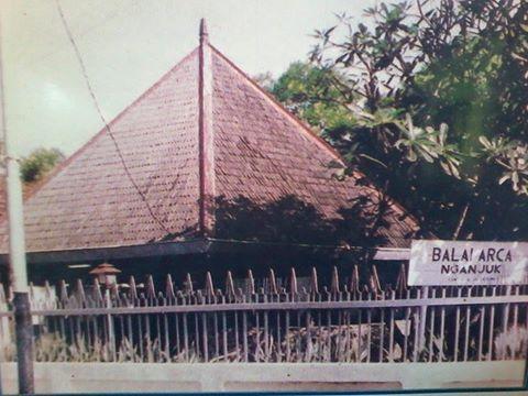 Sejarah Berdirinya Museum Anjuk Ladang Logo Ladanf Balai Arca Kabupaten