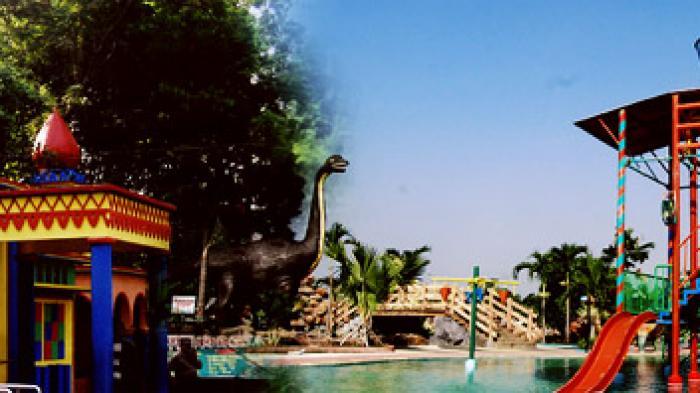 Taman Rekreasi Anjuk Ladang Nganjuk Surya Musium Kab