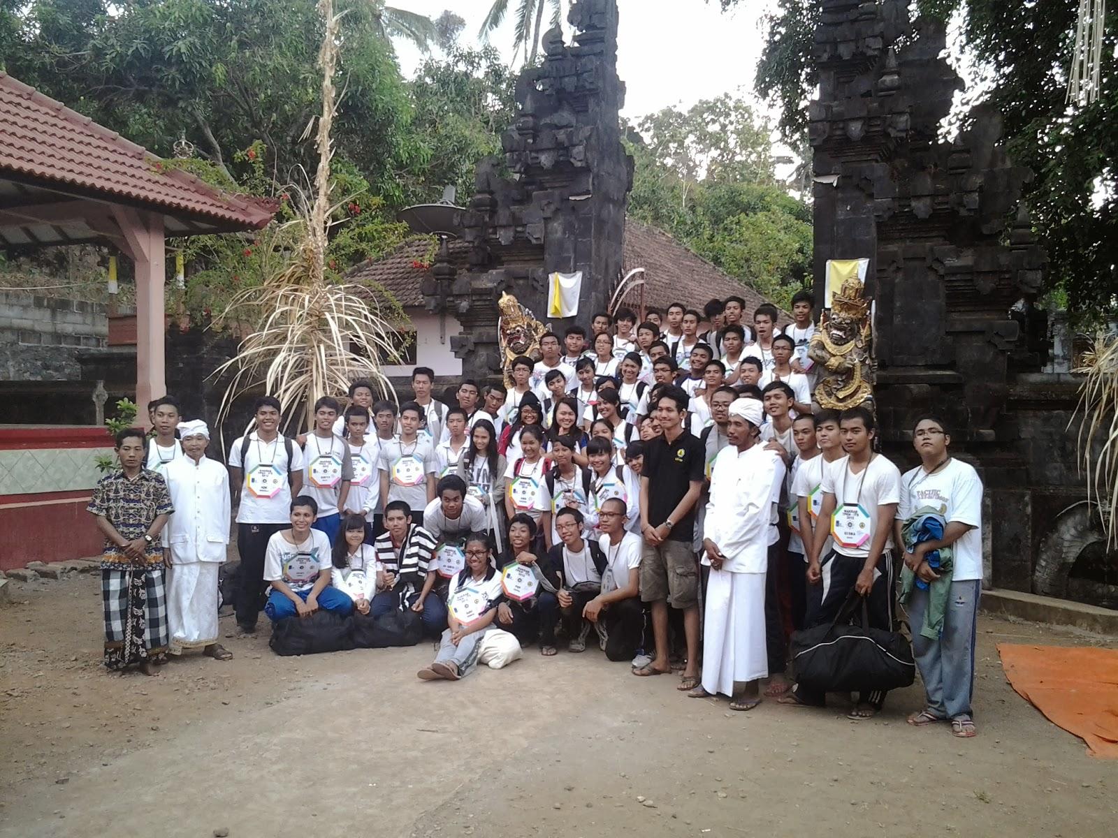2013 Semangat Hindu Tirtayatra Mahasiswa Pura Kerta Bhuwana Kab Nganjuk