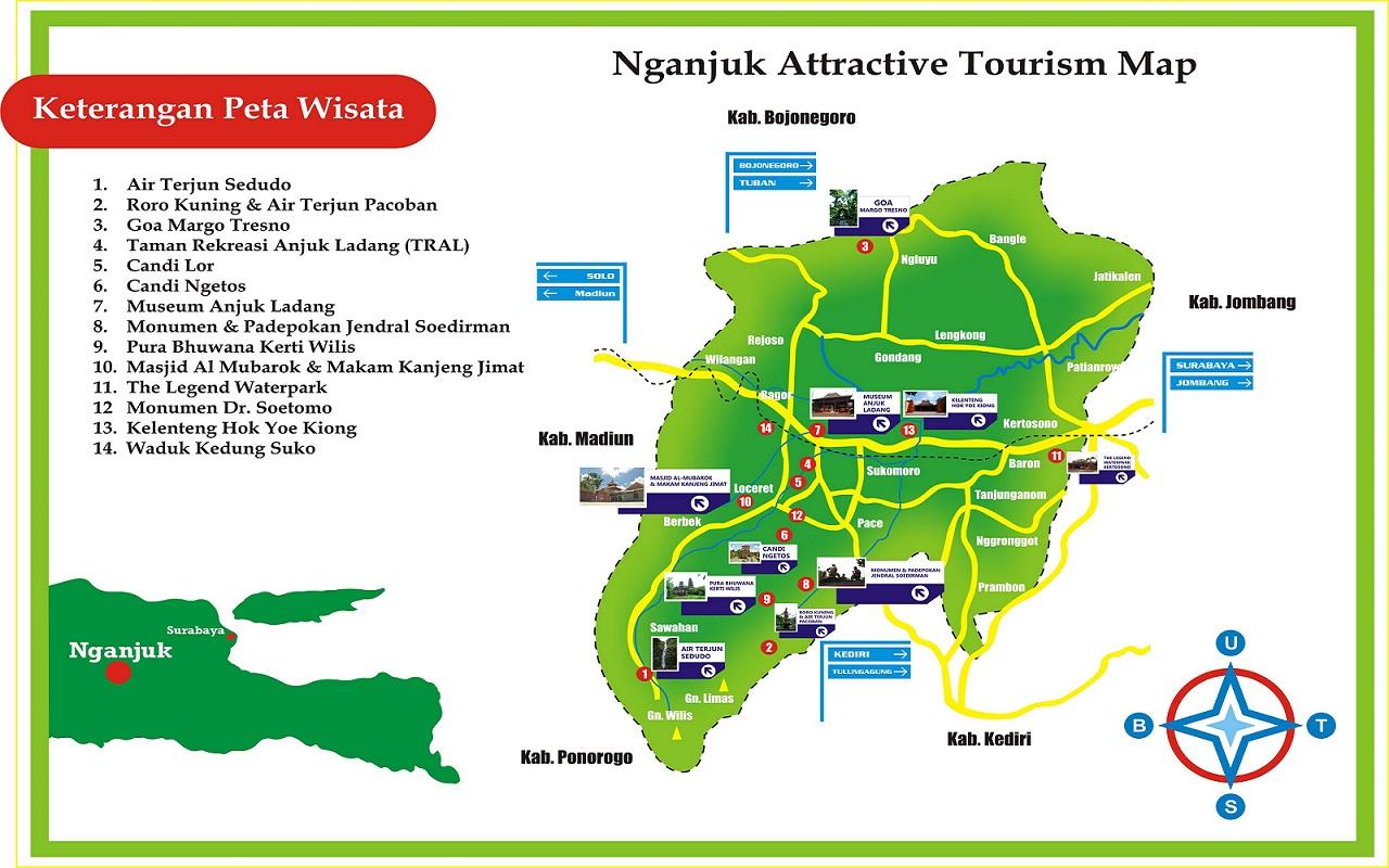 Daftar Obyek Wisata Kabupaten Nganjuk Nah Tampilakan Himpun Okenyus Tahu