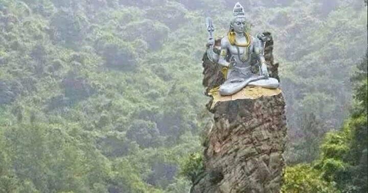 Maha Siwa Ratri Semangat Hindu Pura Kerta Bhuwana Kab Nganjuk