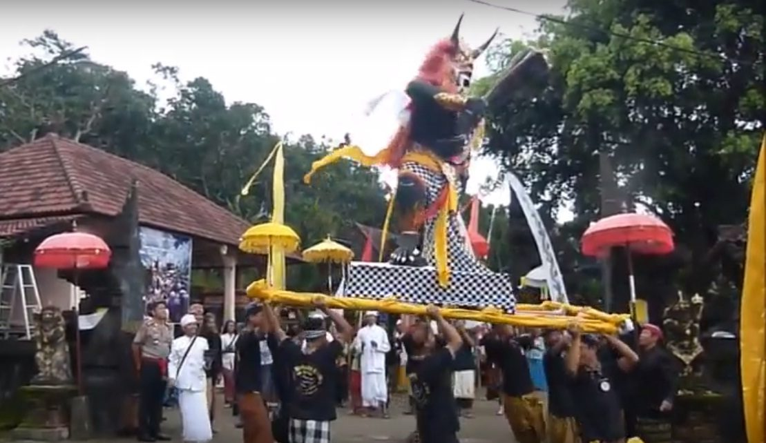 Pura Kerta Bhuwana Giri Wilis Anjukzone Sambut Nyepi Umat Hindu