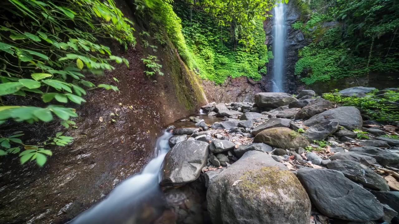 Air Terjun Singokromo Alami Nganjuk Terletak Desa Ngliman Kecamatan Sawahan