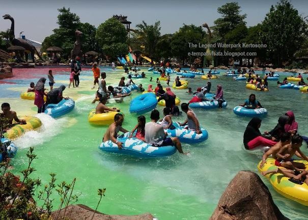 Harga Tiket Masuk Legend Waterpark Kertosono Nganjuk Informasi 2018 Taman