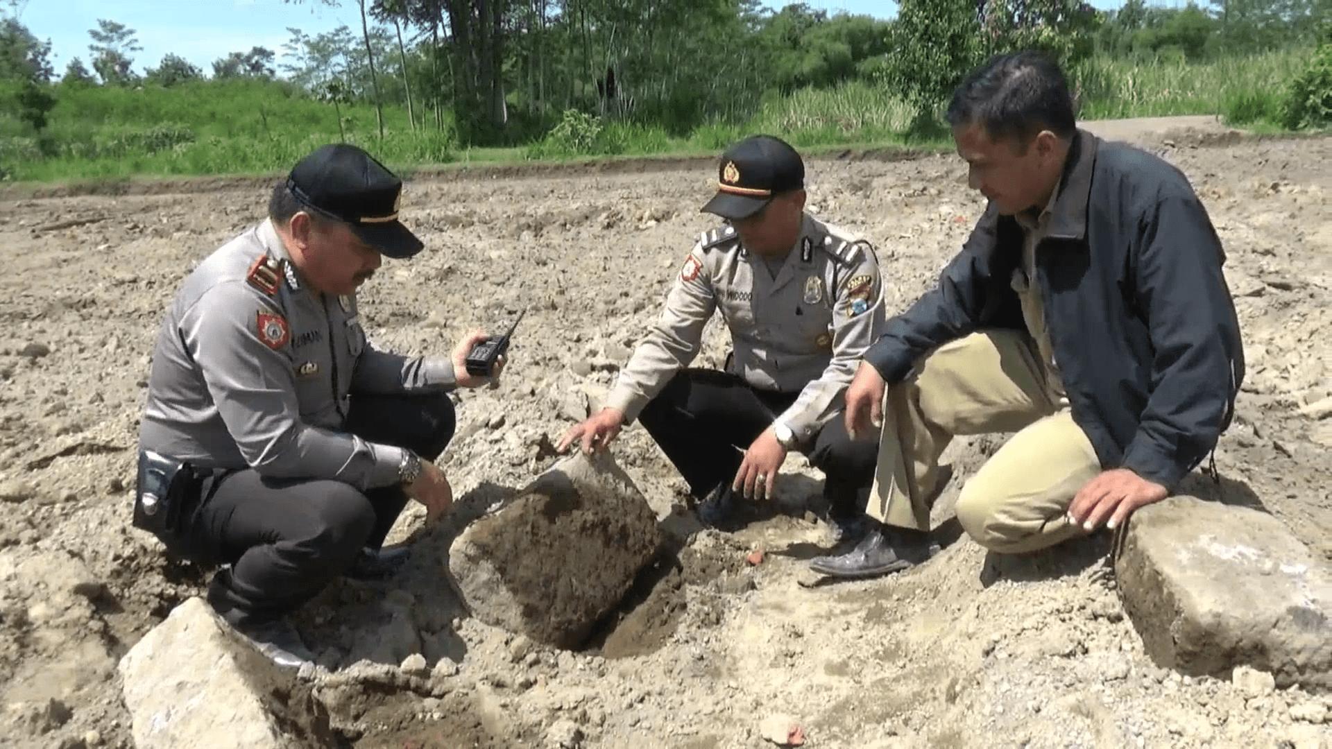 Kediri Temuan Struktur Purbakala Bayu Tv Nganjuk Kembali Ditemukan Warga