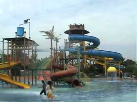 Legend Waterpark Kertosono Nganjuk Youtube Taman Air Kab