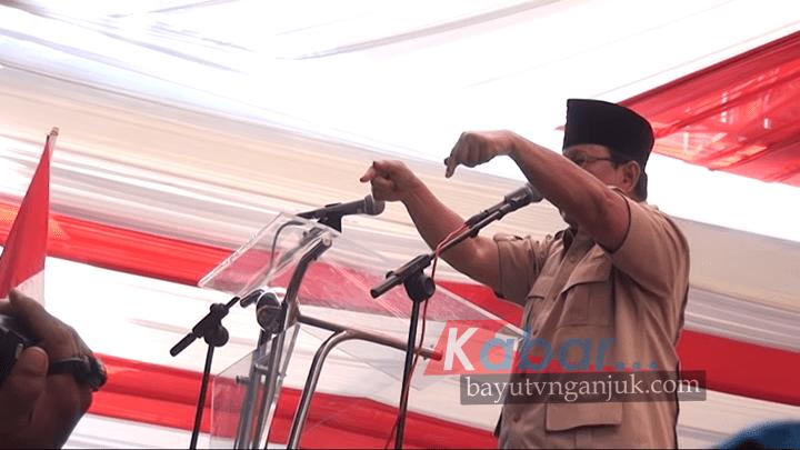 Nganjuk Bayu Tv Prabowo Bersafari Politik Taman Air Legend Kab