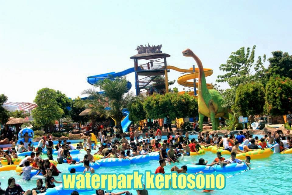 Nganjuk Kota Legend Waterpark Kertosono Berdiri Atas Tanah Seluas 3