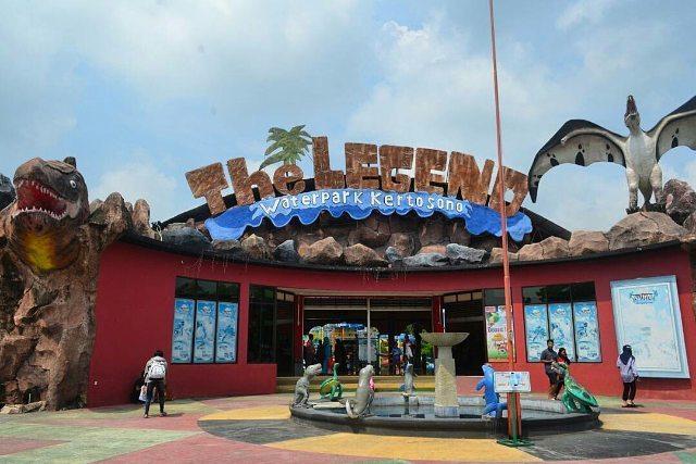Tempat Wisata Nganjuk Populer 2018 Legend Waterpark Kertosono Taman Air