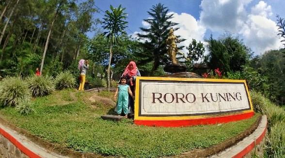 Wisata Menyejukkan Air Terjun Roro Kuning Nganjuk Jatim Taman Legend