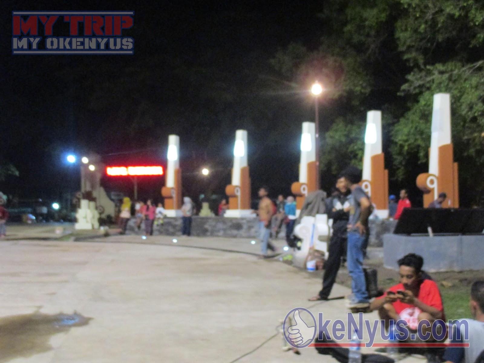 Wisata Nganjuk Ilmalaila09 Bagian Utara Alun Taman Air Legend Kab