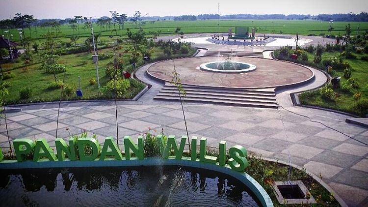 Seputar Kota Kelahiranku Taman Nganjuk Pandan Wilis Kab