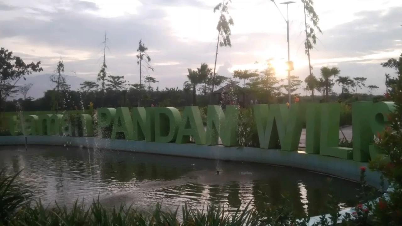 Sunset Taman Pandan Wilis Nganjuk Kota Kab