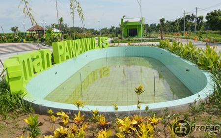 Taman Pandan Wilis Daerah Nganjuk Adventure Bawah Tulisan Kolam Airnya