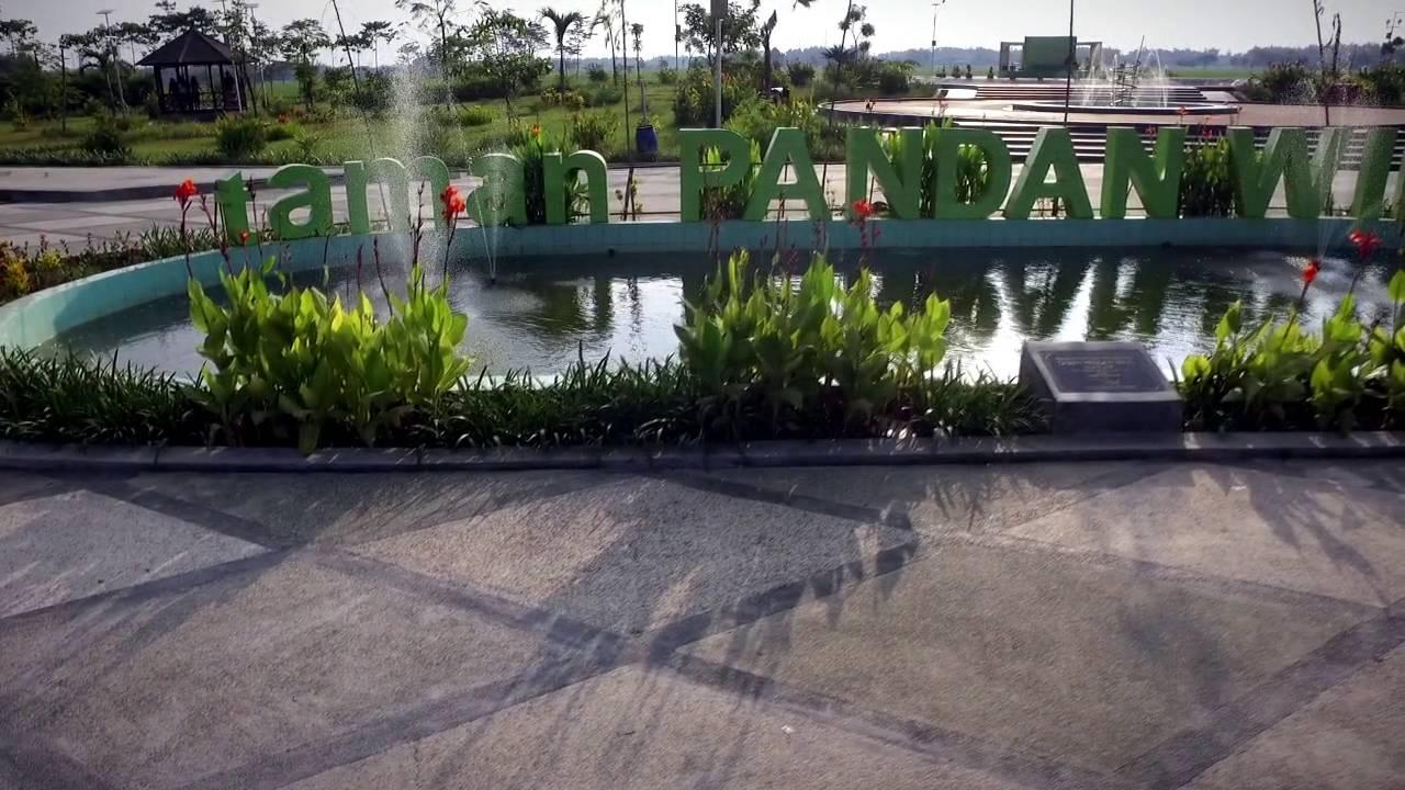Taman Pandan Wilis Nganjuk Jatim Youtube Kota Kab