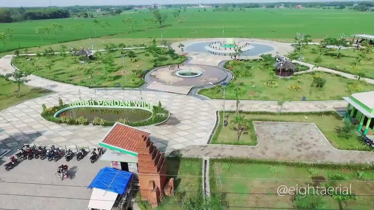 Taman Pandan Wilis Nganjuk Jawa Timur Youtube Kota Kab