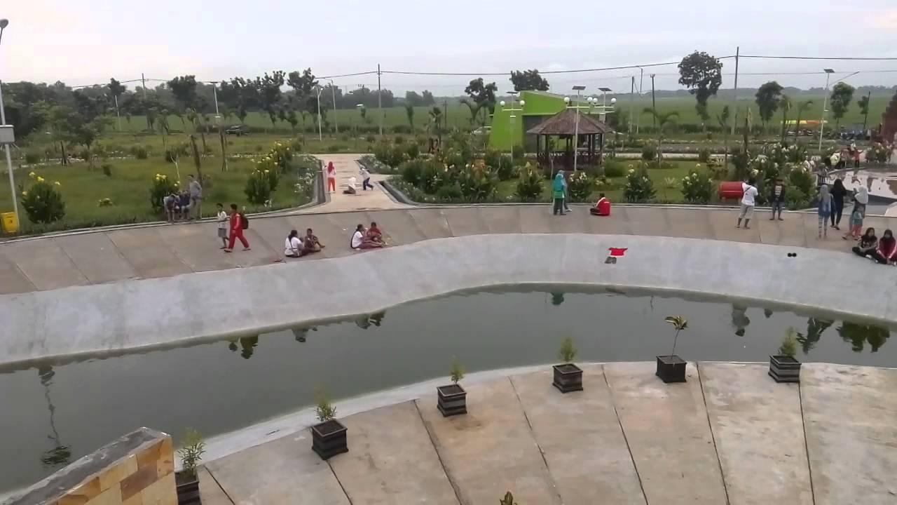 Taman Pandan Wilis Nganjuk Youtube Kota Kab