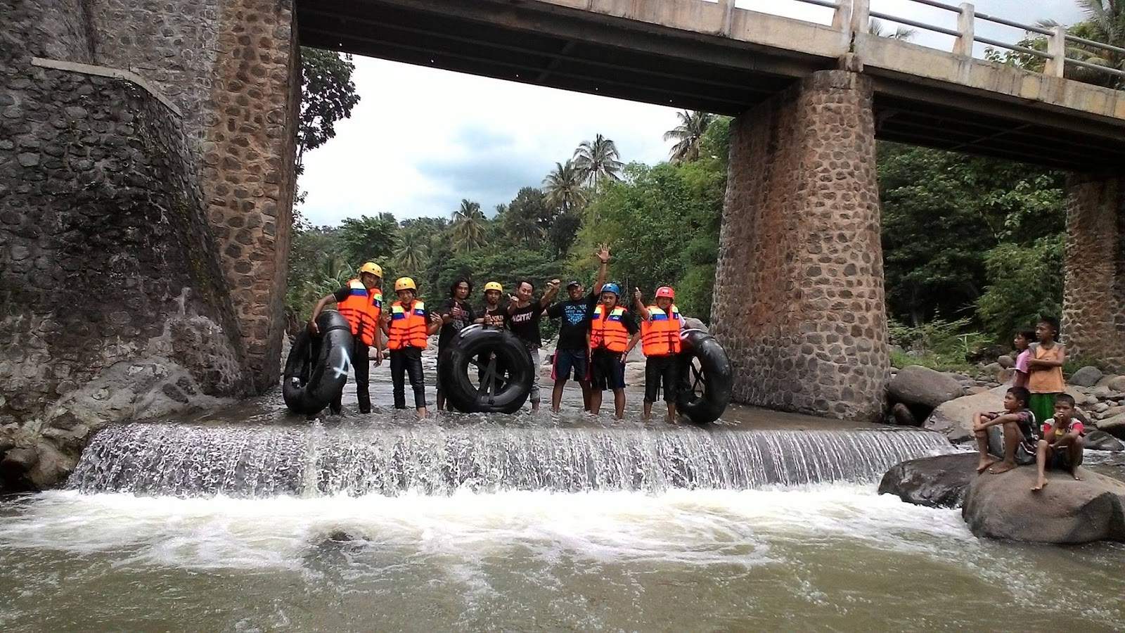 Wahana Wisata River Tubing Pertama Kabupaten Nganjuk Ekseklusif Taman Kota