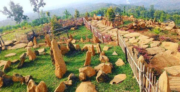 Wisata Kota Angin Nganjuk Dimasfan Bukit Batu Margopatut Taman Pandan