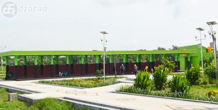 Wisata Nganjuk Taman Pandan Wilis Vectoria Jenaka Food Court Wifi
