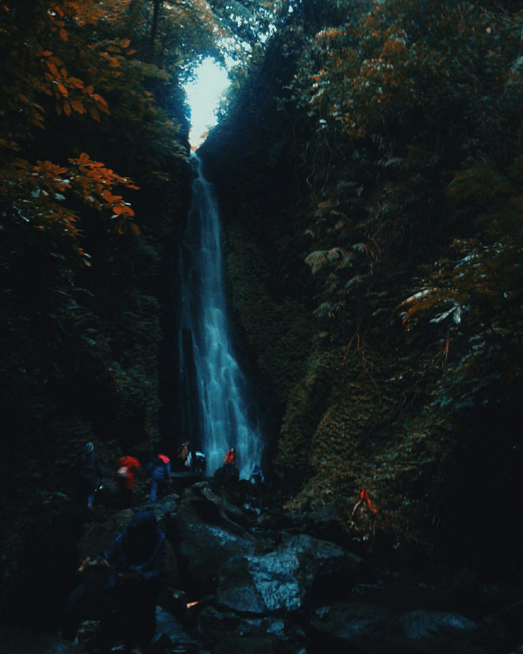 Hobiarin Dulu Jalan Ditempuh Sampai Air Terjun Cukup Baik Aliran