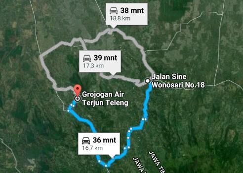 Pesona Keindahan Wisata Air Terjun Teleng Ngawi Daftar Tempat Demikianlah