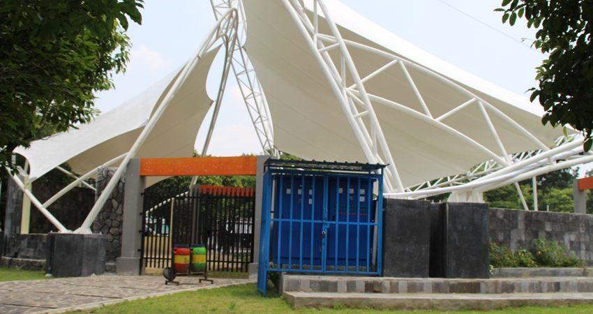Amphitheater Asal Asalan Disparypura Ngawi Renovasi Ulang Manfaatkan Dana Bk