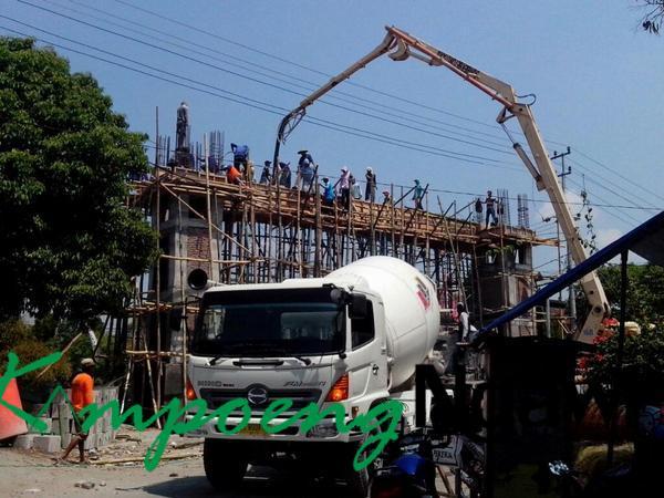 Dikebut Pembangunan Gapura Alun Ngawi Kampoengngawi Kab