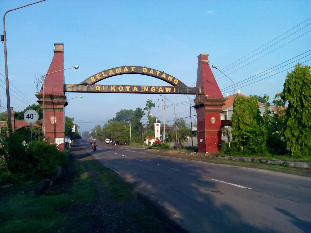 Elokdwirosiana Ngawi Ramah Halo Teman Perkenalkan Kota Sekaligus Kabupaten Ujung