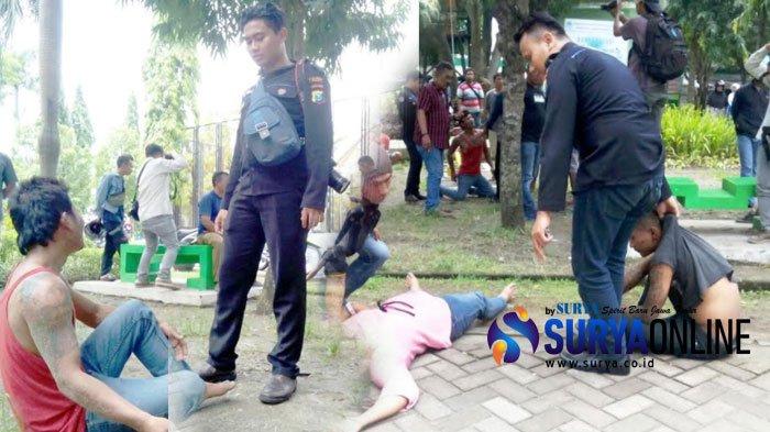 Lihat Polisi Temukan Tangan 2 Pemuda Berkelahi Alun Ngawi Kab