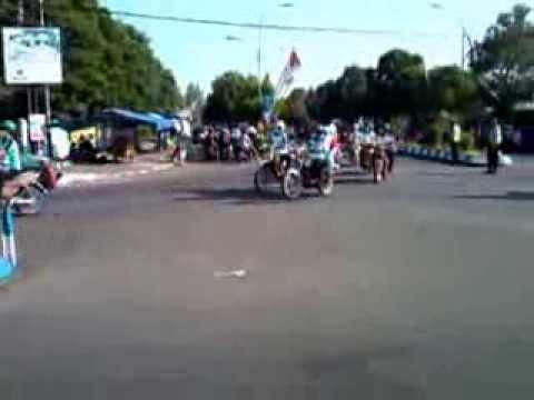 Pawai Memperingati Hari Kemerdekaan Ri Alun Ngawi Youtube Kab