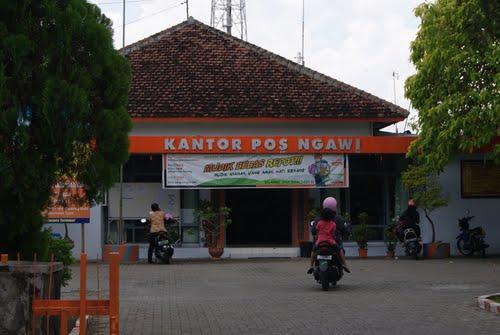 Pos Giro Kabupaten Ngawi Kantor Terletak Sebelah Timur Alun Kota