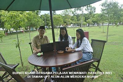Wisata Kota Ngawi Ramah Anang Wahyudi Alun Terbesar Jawa Timur