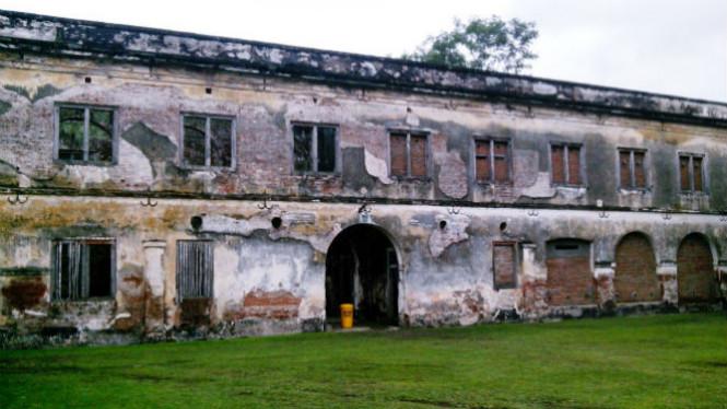 Benteng Pendem Van Den Bosch Kabupaten Ngawi Viva Kab