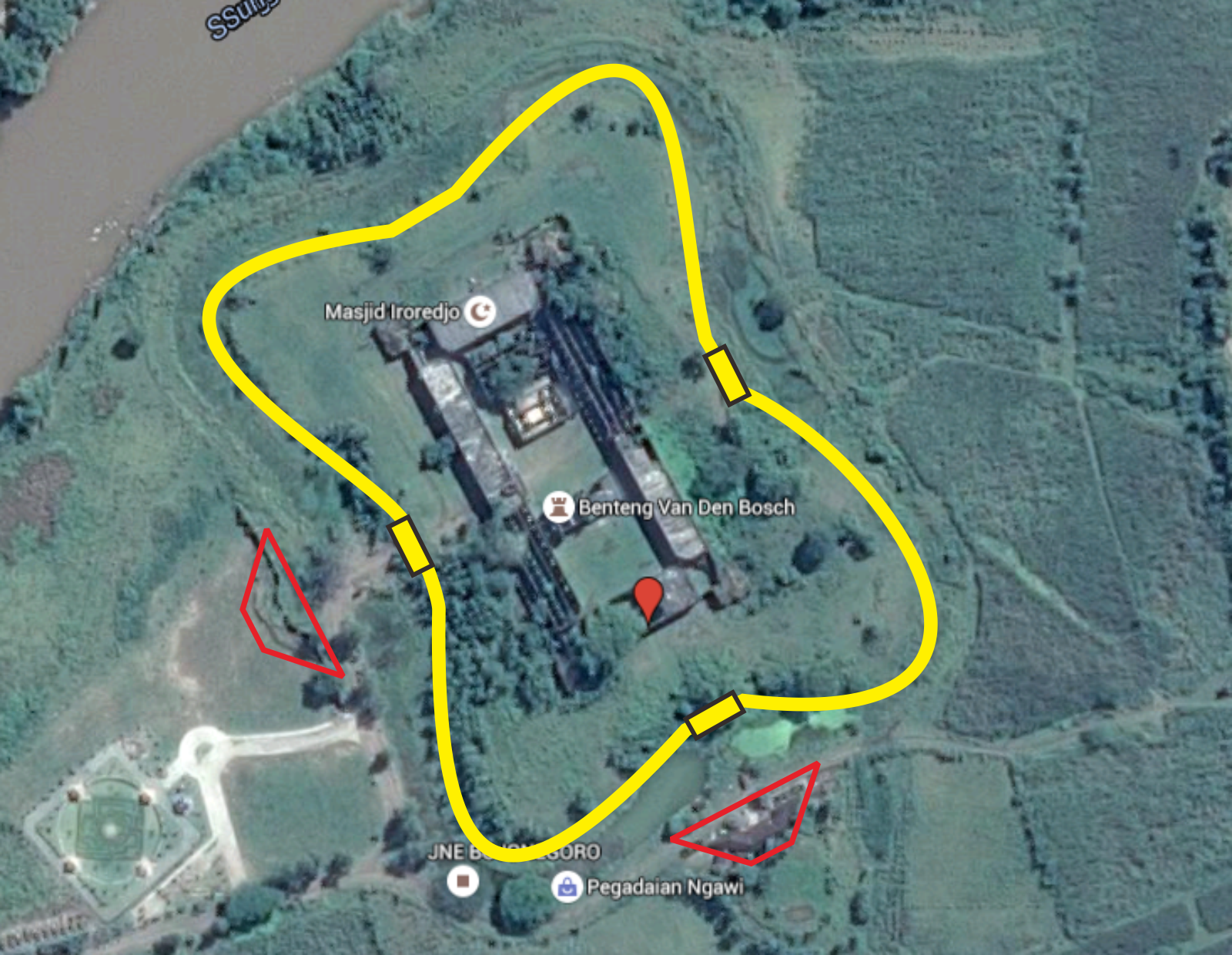 Jejak Kolonial Mengintip Keperkasaan Benteng Van Den Bosch Ngawi Citra