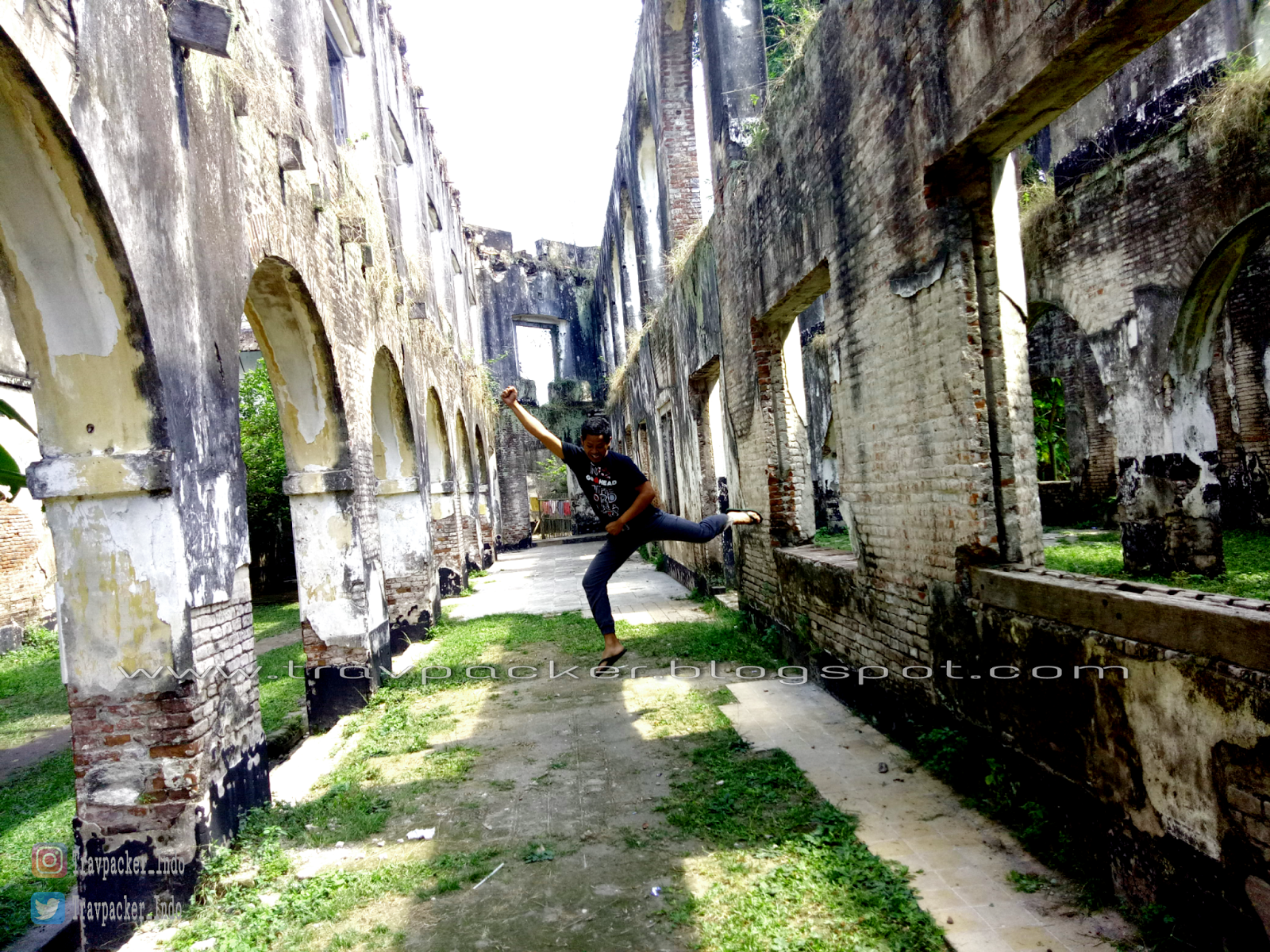 Mengenang Bangunan Bersejarah Benteng Pendem Van Den Bosch Kabupaten Ngawi