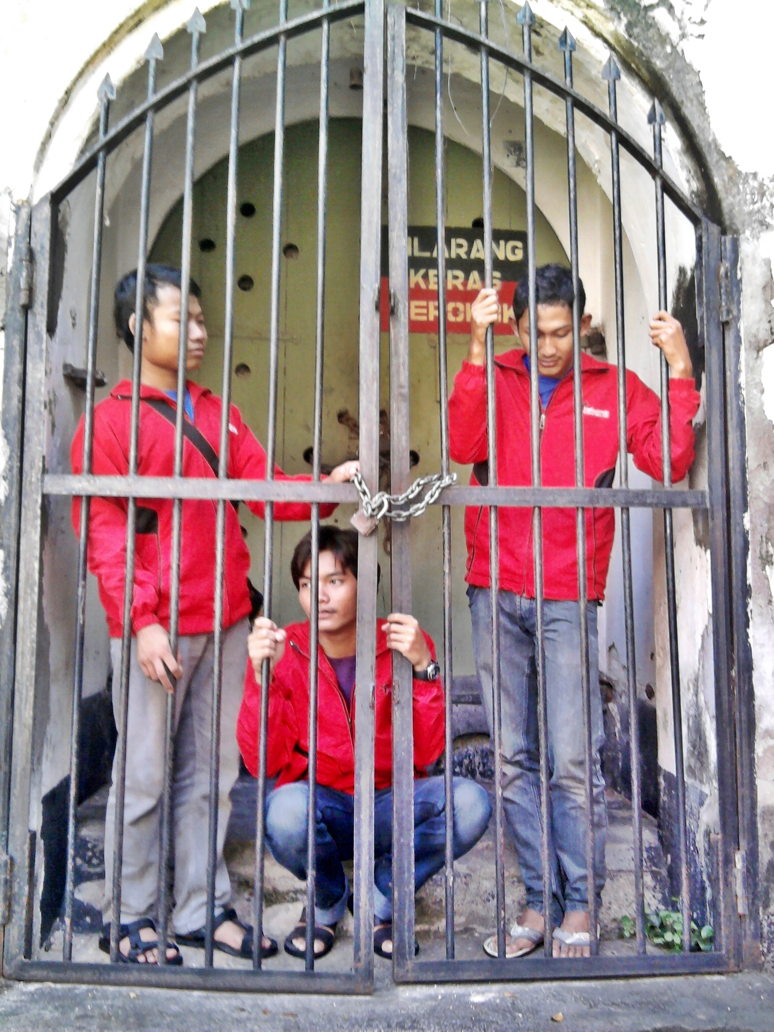 Tahanan Benteng Van Den Bosch Yaenal Zamrinata Kab Ngawi
