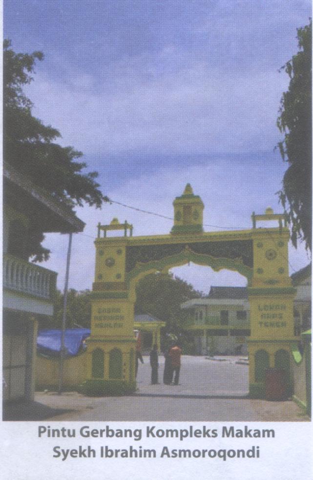 Makam Syekhlbrahim Asmoroqondi Kabupaten Tuban Pusaka Jawatimuran Ibrahim Qondi Gapura