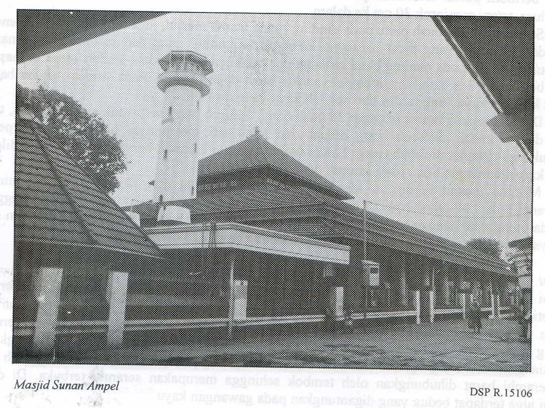 Masjid Kuno Jawa Timur Sunan Ampel Surabaya Pusaka Gapura Mushola