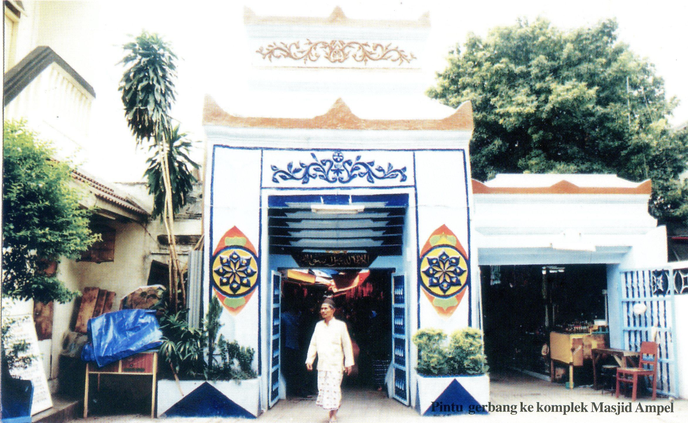 Sunan Ampel Pusaka Jawatimuran Umat Islam Gapura Mushola Ponpes Pak