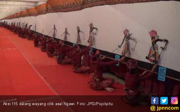 115 Dalang Cilik Ngawi Pecahkan Rekor Dunia Daerah Jpnn Industri