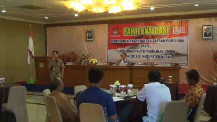 Dprd Ngawi Usulkan Perubahan Penataan Dapil Pojok Pitu Industri Gamelan