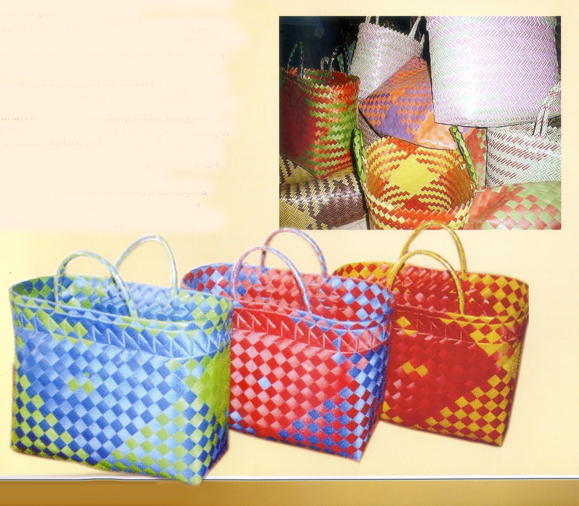 Tas Anyaman Ngawi International Shnet Plastik Industri Gamelan Kab