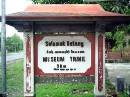Musium Trinil Ngawi Jawa Timur Tempat Terletak Desa Kawu Kecamatan