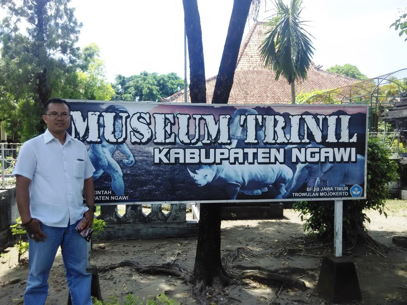 Wiyak Bumi Langit Berkunjung Museum Trinil Berada Kabupaten Ngawi Tidak