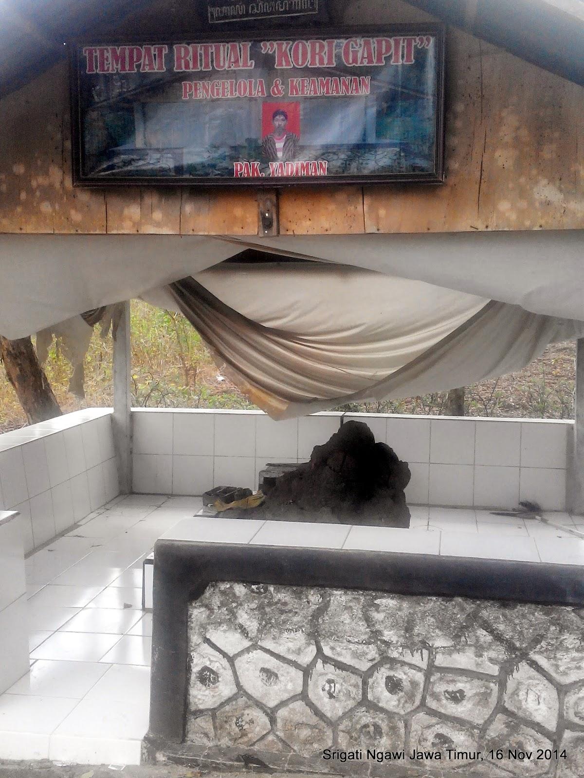 Ndekwur Srigati Disebut Pesanggrahan Kori Gapit Tempat Makam Eyang Singo